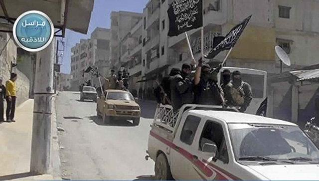 Боевики террористической группировки Джебхат ан-Нусра (организация запрещена в РФ). Архивное фото