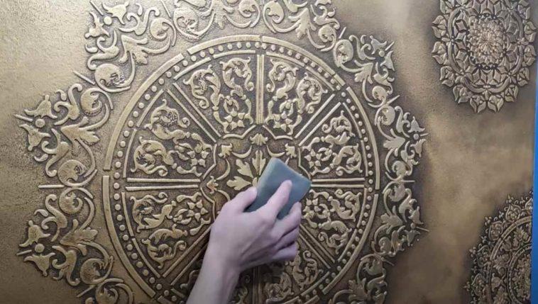 Декоративная отделка своими руками: как оригинально задекорировать поверхность стены декор,для дома и дачи,мастер-класс