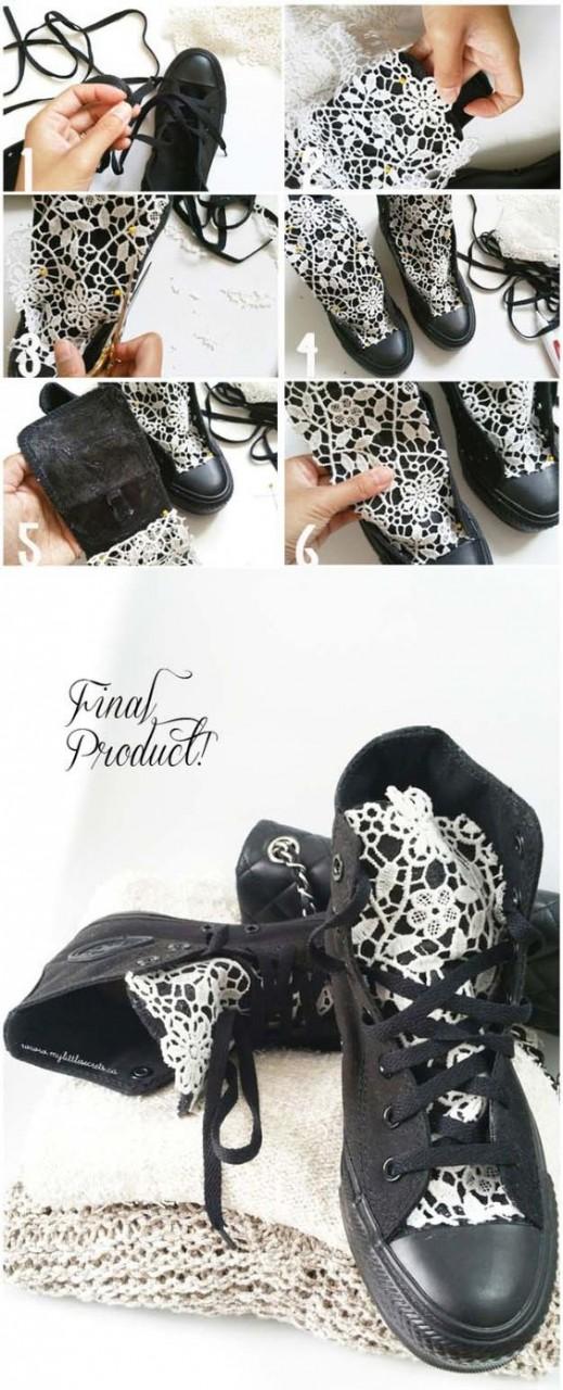 Переделки обуви своими руками(3diy)