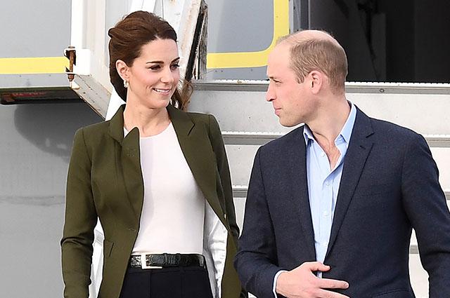 Кейт Миддлтон и принц Уильям прилетели на Кипр