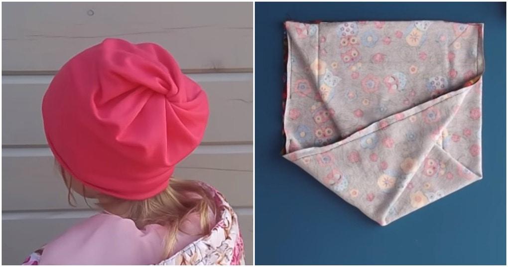 Оригинальная шапочка бини с секретной сборкой: полчаса — и готово!