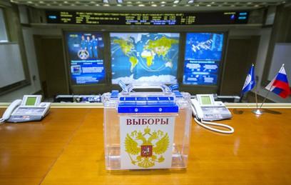 Глава Роскосмоса заявил о стопроцентной явке на выборы на МКС