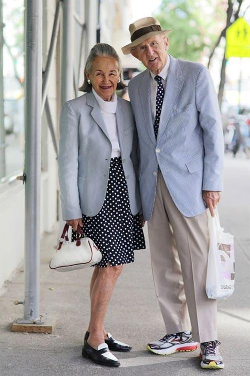 Стильная супружеская пара