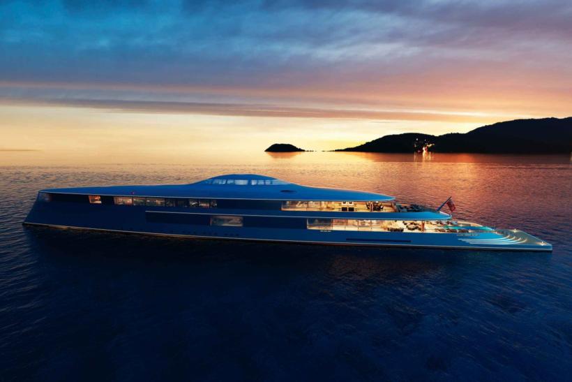 Как выглядит первая яхта, работающая на жидком водороде