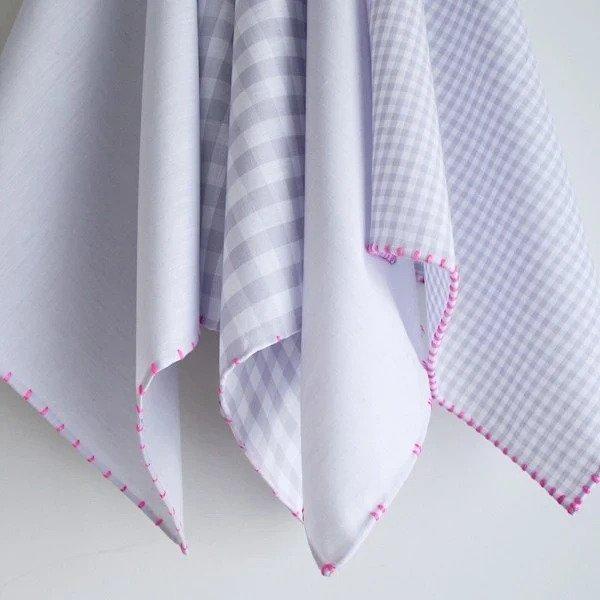 Идея: простой декоративный ручной шов для обработки края