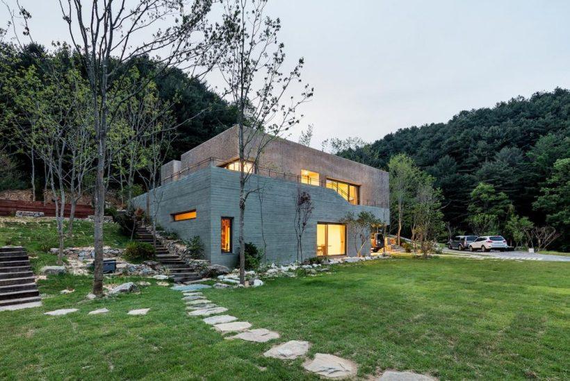 Очень просторная корейская вилла | Роскошь и уют Фото