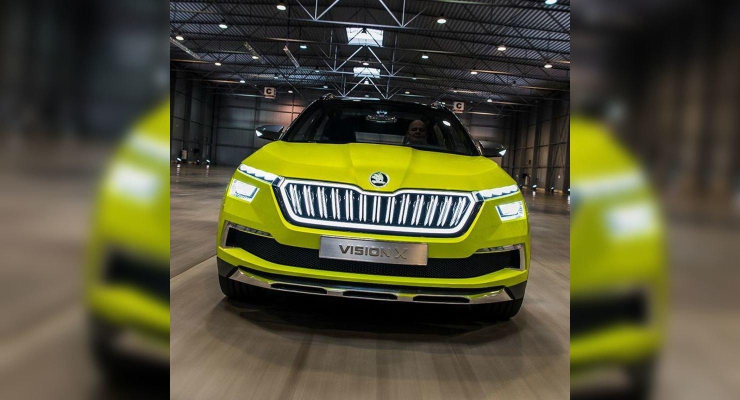 Skoda Vision IN Concept — будущий бюджетный кроссовер Автомобили