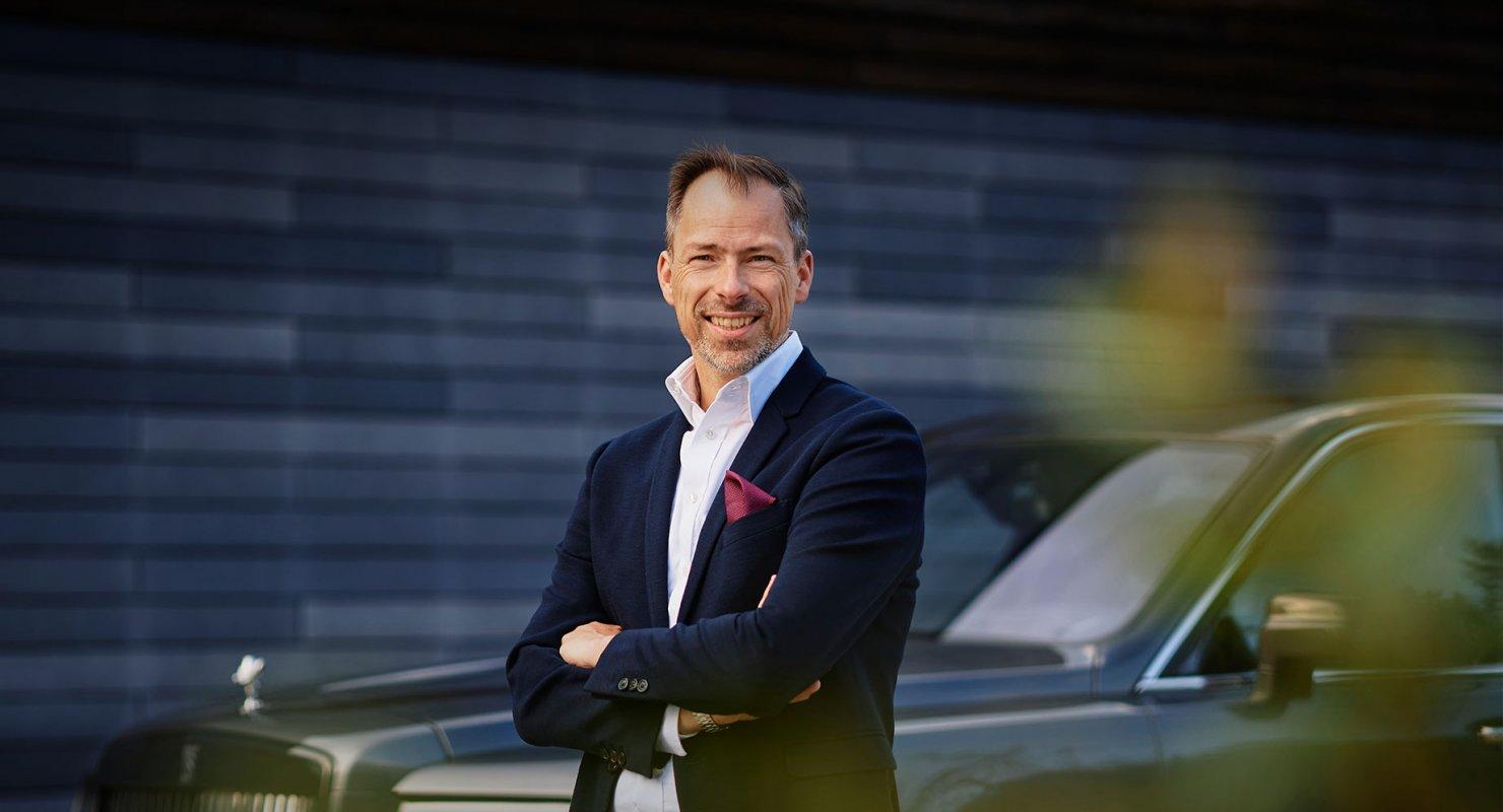 Шеф-дизайнером марки Rolls-Royce назначен Андерс Варминг Автограмота