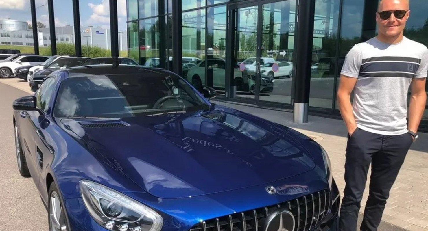 Валтерри Боттас выставил на продажу Mercedes-AMG GT Автомобили