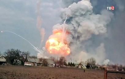 Жертвой взрывов на складе боеприпасов под Харьковом стала женщина