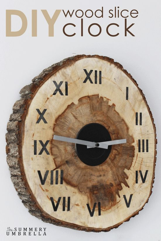 Часы из дерева - креативно, красиво, оригинально своими руками