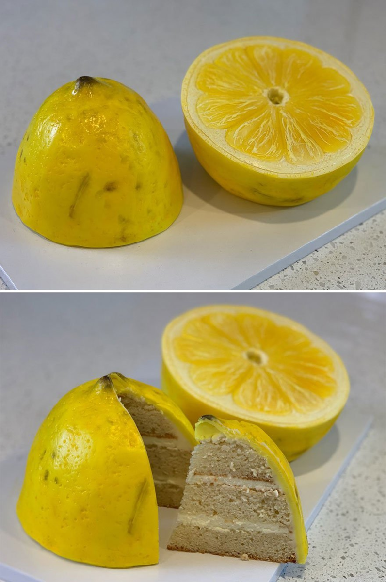 Необычные гиперреалистичные торты