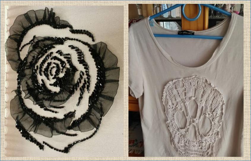 Необычные аппликации и элементы украшения одежды из кружева, шифона и органзы идеи и вдохновение,мода,одежда