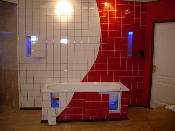 Отличное решение, которое поможет сэкономить пространство в ванной комнате.