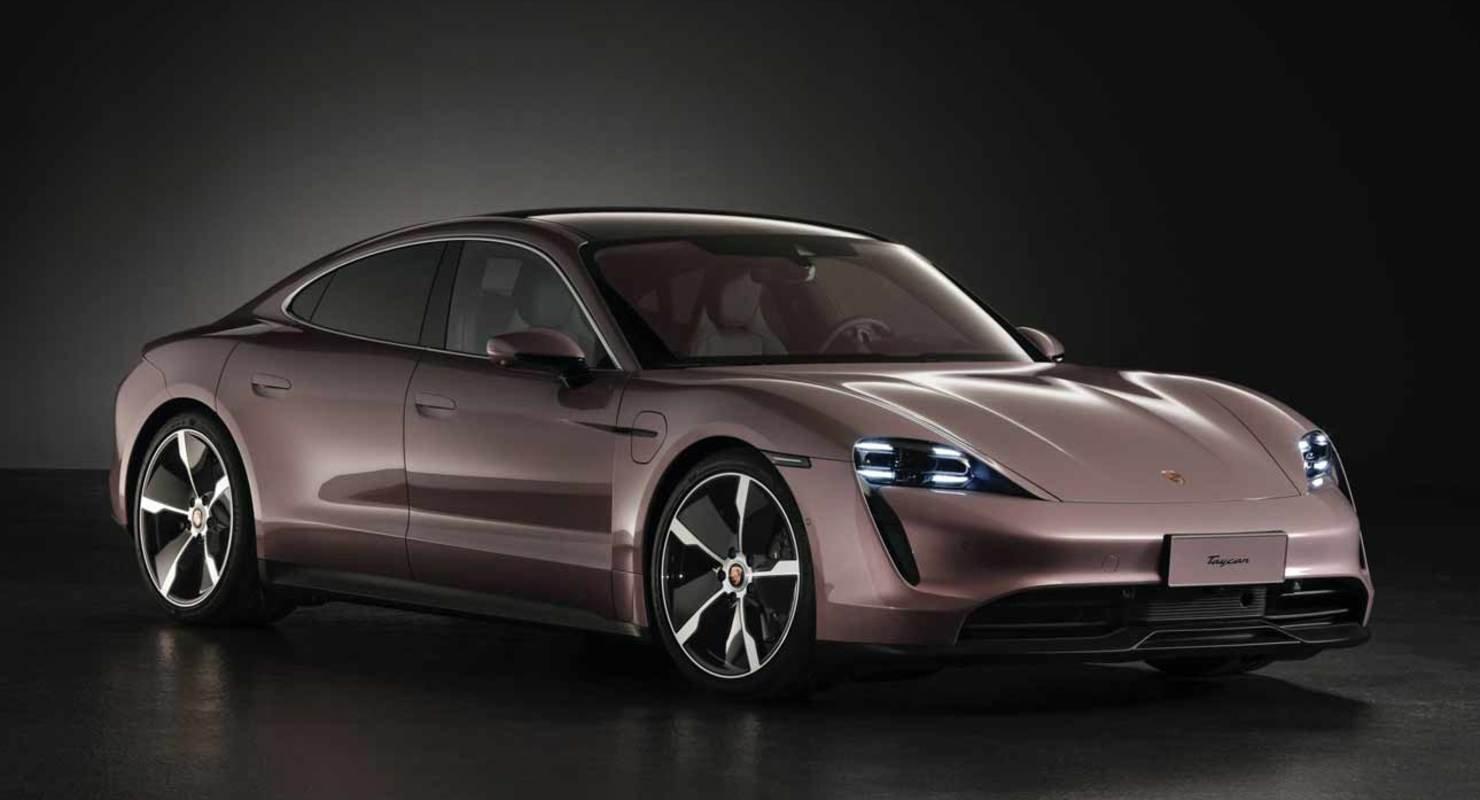 Porsche выпустил новую базовую версию электрокара Taycan Автомобили