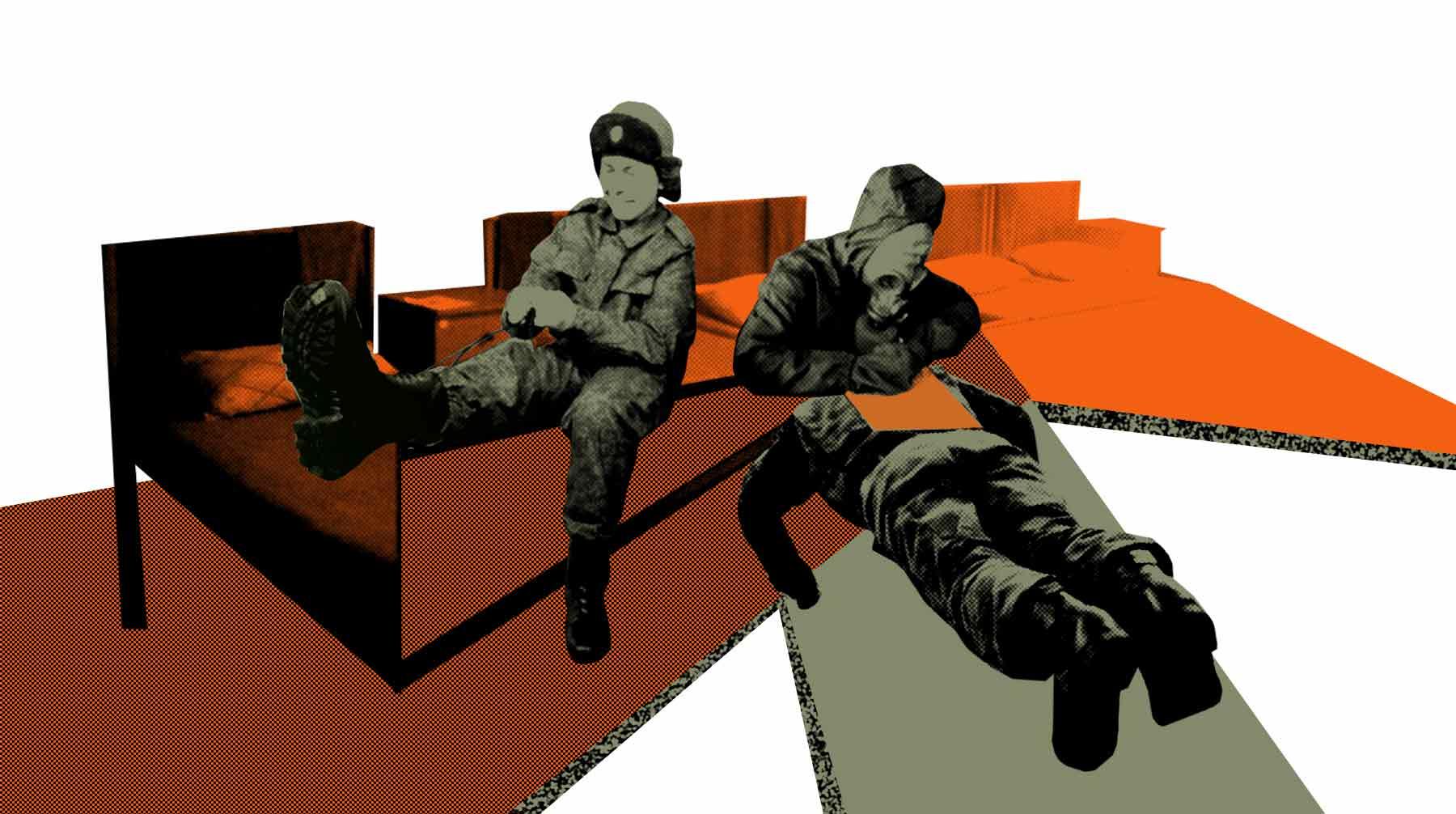 Жить не по уставу части, итоге, общем, лейтенант, всяких, очень, нормально, вообще, решили, тогда, неуставные, сослуживец, службы, «старые», который, офицер, решил, призыва, говорил, ничего