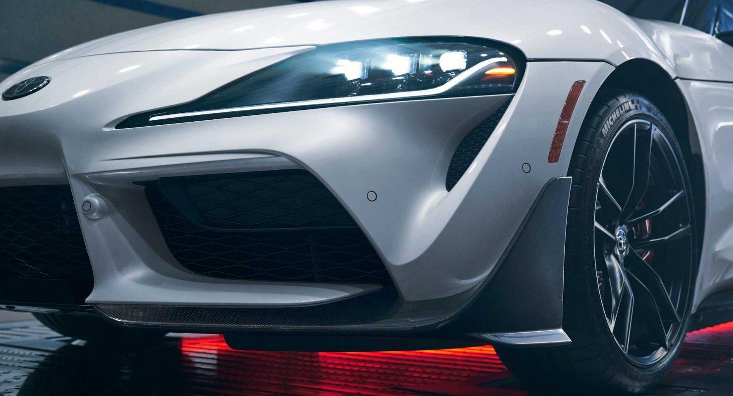 Представлена Toyota Supra A91-CF Edition 2022 года с углеродной отделкой Автомобили