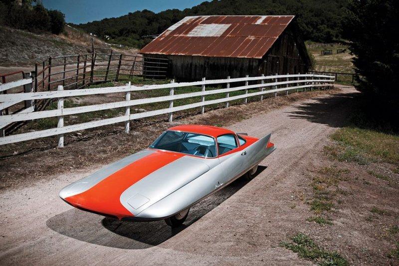 Ghia Gilda Streamline X авто, автодизайн, автомобили, аэродинамика, дизайн, обтекаемость, самолет