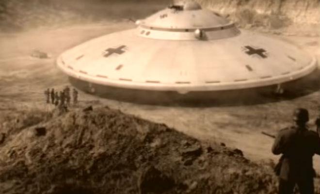 Летающие тарелки Рейха: документальные съемки рабочих прототипов