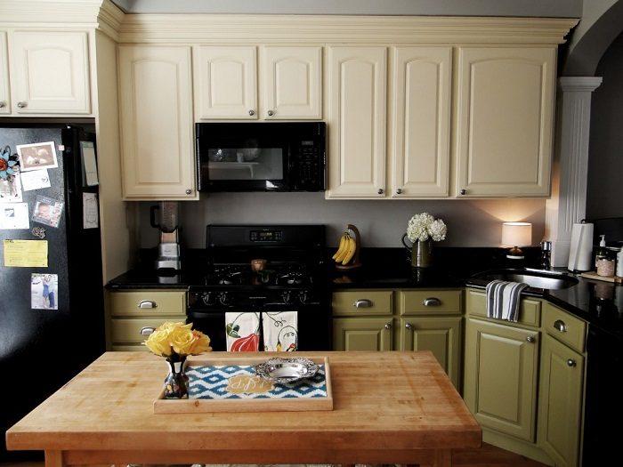 покраска кухни своими руками фото являетесь примером
