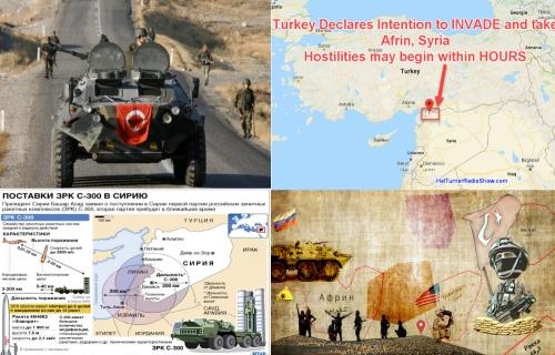 Афринская операция Турции должна начаться в считанные часы. Что скажет Россия?
