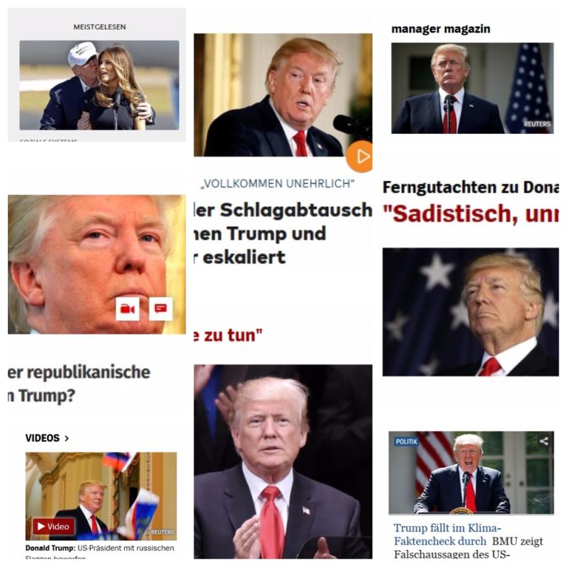 Культ личности Трампа