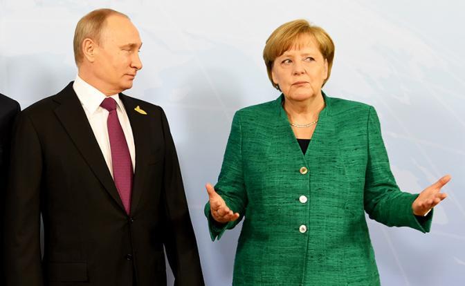 Меркель против Путина: Четве…