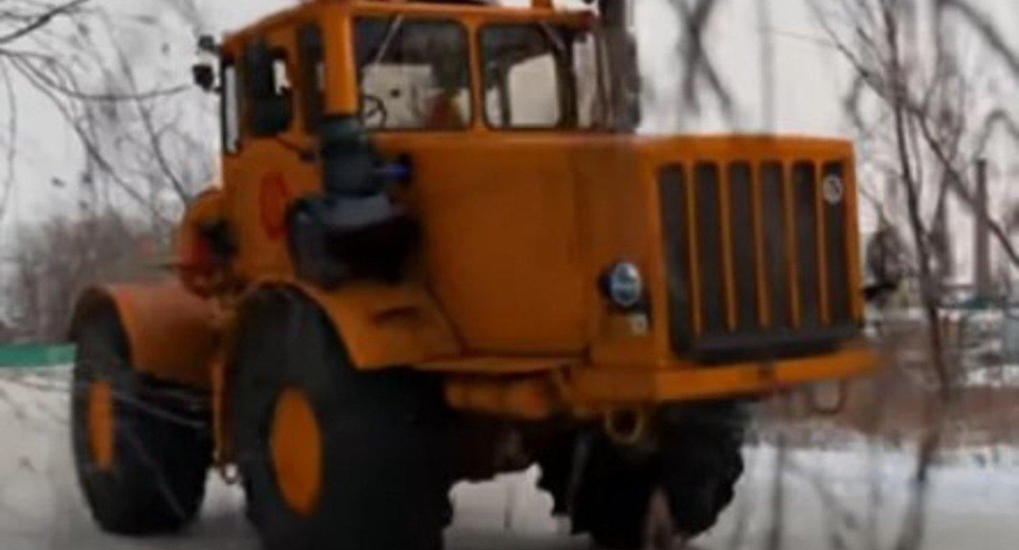 Интересные факты о тракторе К-750 «Кировец» Автомобили