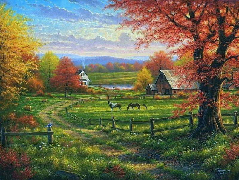 Осенняя природа Abraham Hunter