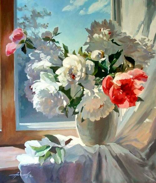 Ура, скоро лето — залитые теплым солнечным светом натюрморты Анны Поповой