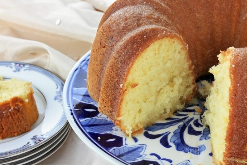 сдобный пирог без начинки