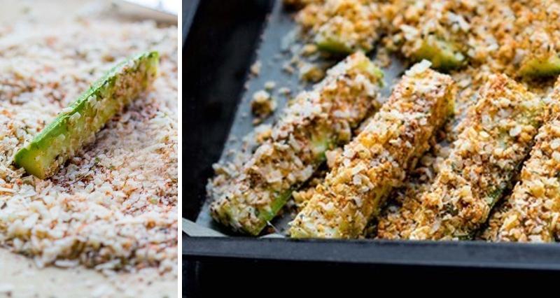 рецепты из кабачков в духовке