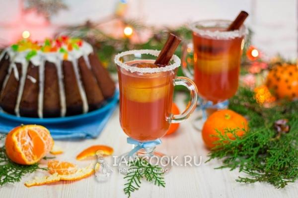 Безалкогольные напитки. Пунш безалкогольный рождественский