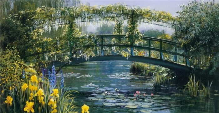 Сказочные пейзажи художника Peter Ellenshaw живопись