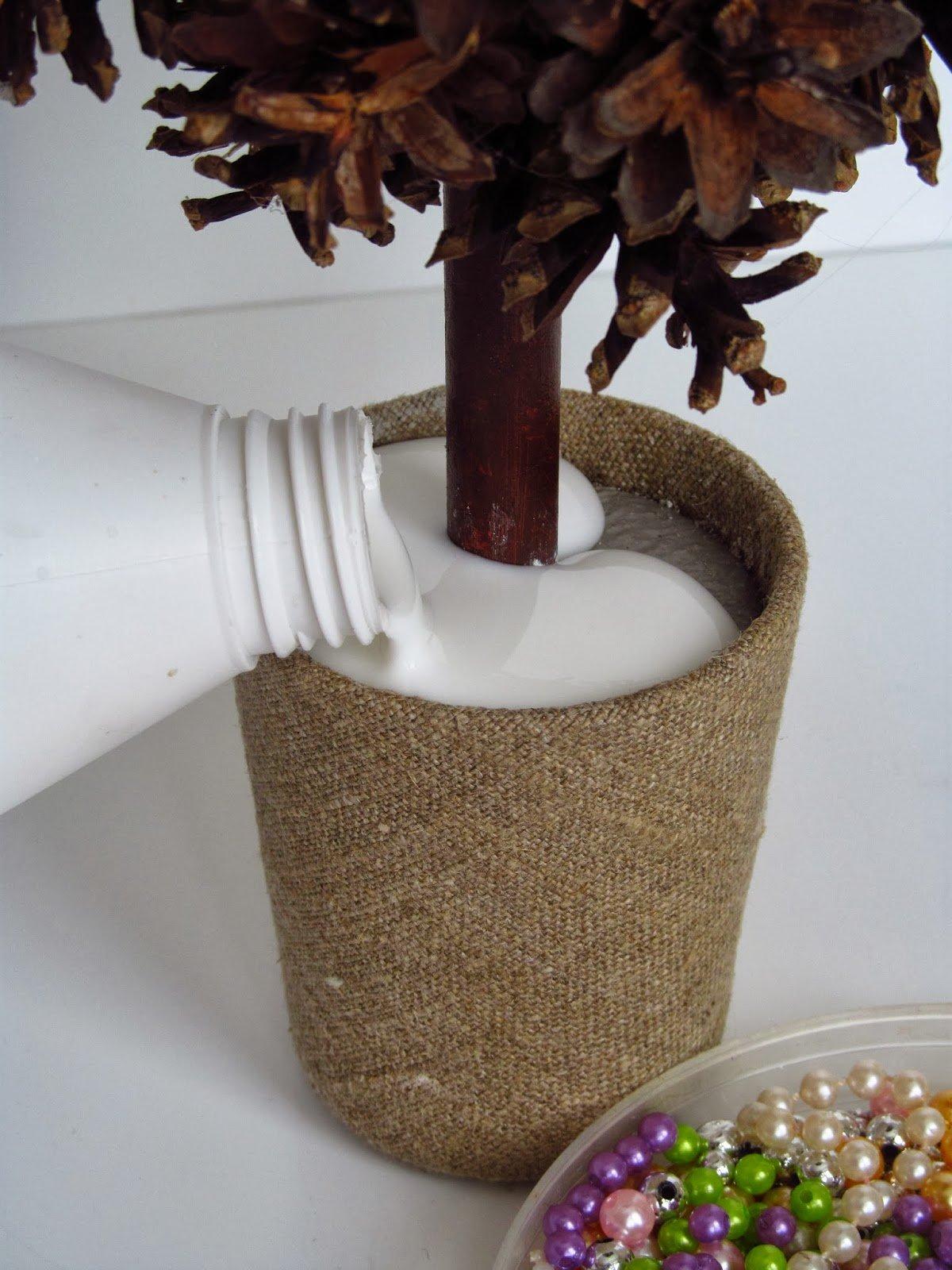 Декоративные деревья своими руками декор,для дома и дачи