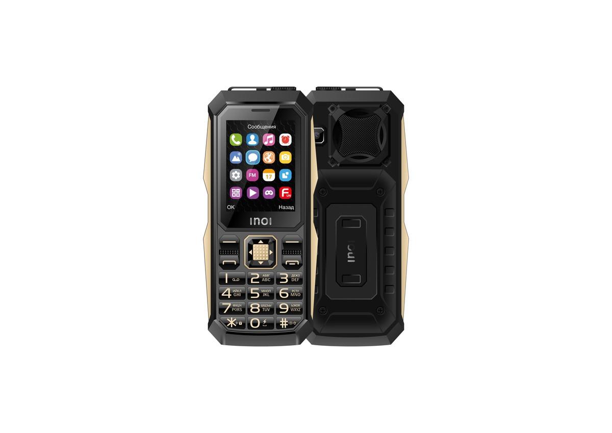 Анонс INOI 246Z: ударопрочный телефон с огромной батарейкой