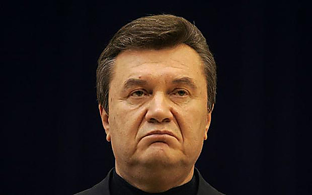Виктор Янукович написал гнев…