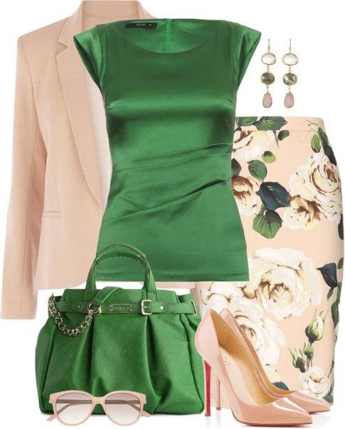 С чем можно носить платья и юбки -- чень элегантные и женственные сеты
