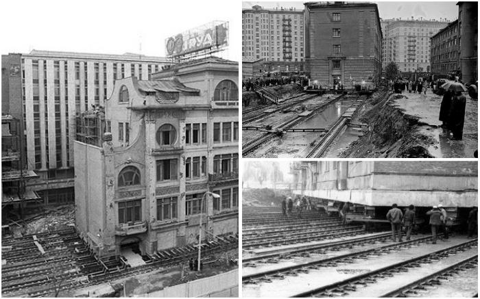 Как переместить капитальное здание на новое место: технологии и хитрости инженеров-строителей архитектура,градостроительство,перемещение зданий,планирование,технологии,шагающий дом
