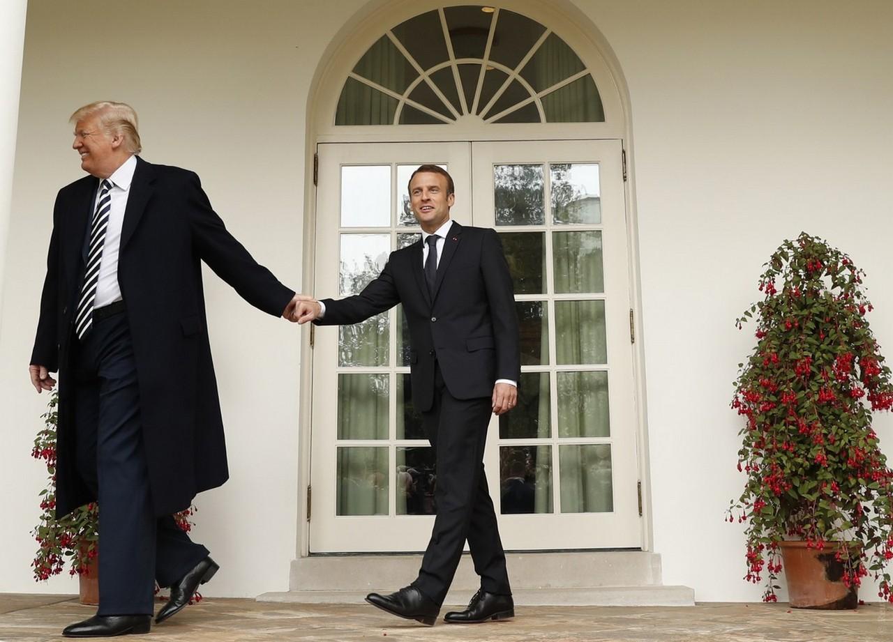 Трамп ставит ультиматум Макрону, но в «парижском Майдане» виноват Кремль
