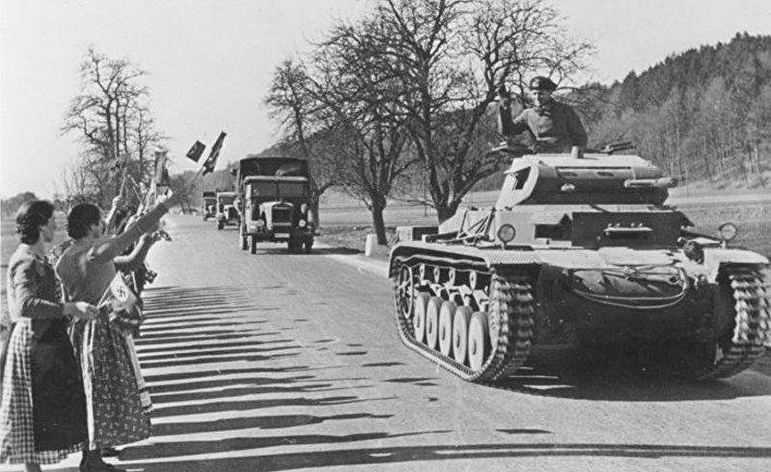 Танковое позорище Германии в 1938 году