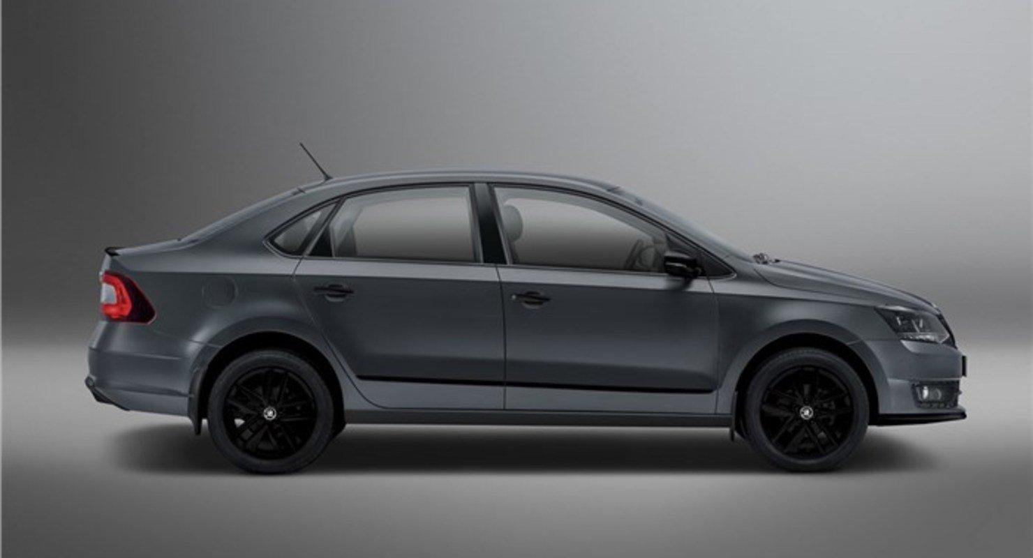 В Индии стартовали продажи Skoda Rapid в спецверсии Matte Edition Автомобили
