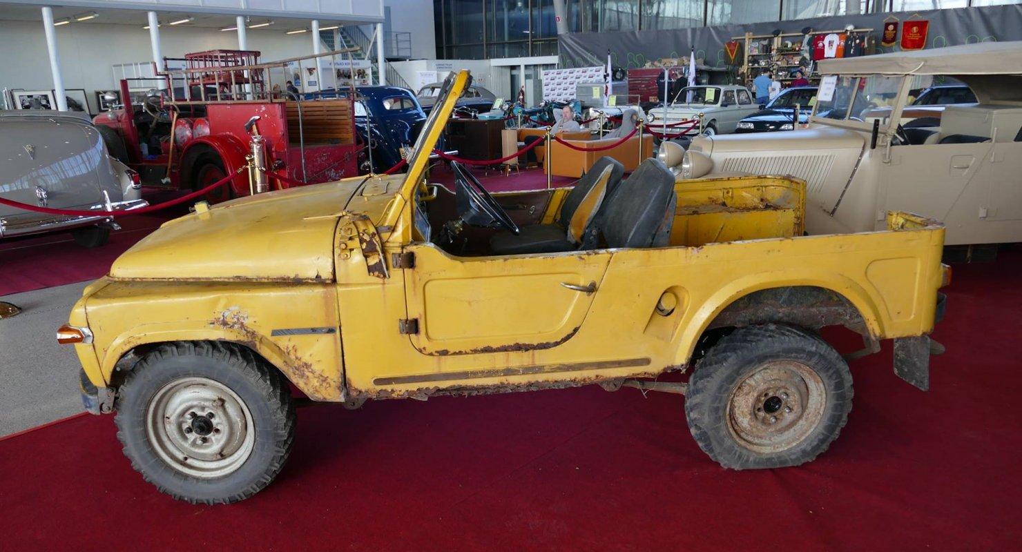 Москвич 415С — единственный экземпляр проекта внедорожника Автомобили