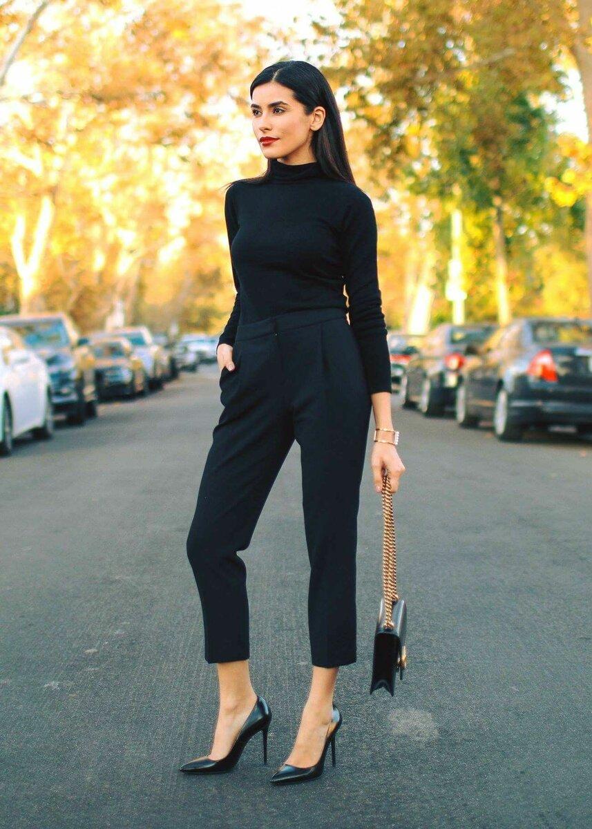 Чёрный цвет в одежде: как выглядеть стильно и элегатно, выбирая этот цвет