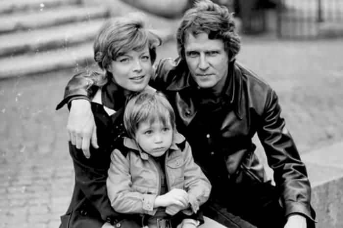 Роми Шнайдер и Гарри Майен с сыном Давидом | Фото: 24smi.org
