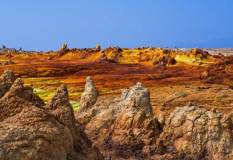 Фото: Эрик Лаффордже (Eric Lafforgue: Getty) безжизненное место, вулканы, интересное, фотографии