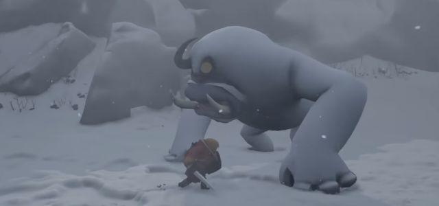 Битва с огромным монстром и выживание в зимнем лесу в ролике Little Devil Inside little devil inside,Игровые новости,Игры