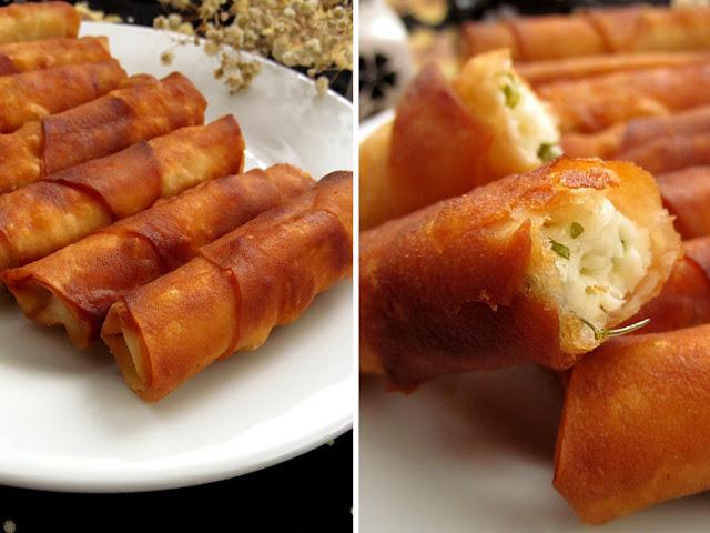 Турецкие пирожки-трубочки с сыром  выпечка,закуски,кулинария,турецкая кухня