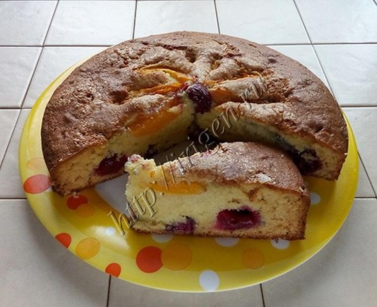 Универсальный ФРУКТОВО-ЯГОДНЫЙ пирог
