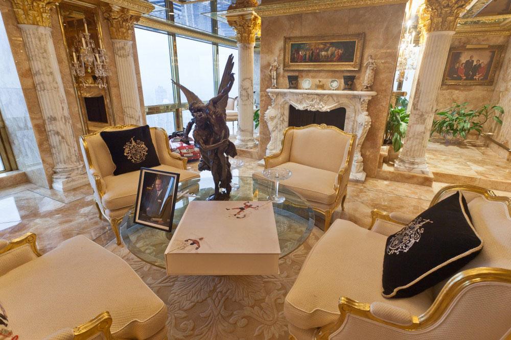 часто фото дома в котором живет дональд трамп основы-покрытия